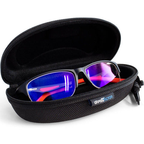 Lentes Gamer GAME FACTOR GG300 Flexible Anti Blue Light Negro