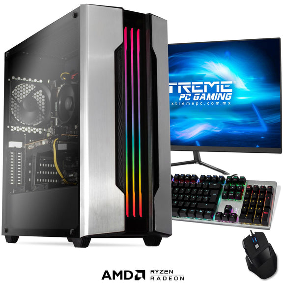 Xtreme PC Gamer AMD Radeon RX 5500 XT Ryzen 5 3600 16GB SSD Monitor 24 144Hz