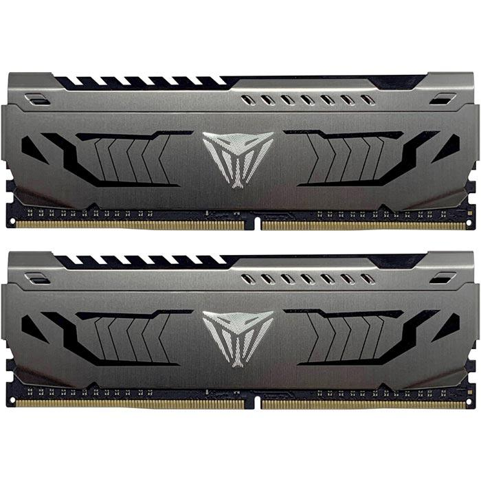 Memoria RAM DDR4 32GB 3200MHz PATRIOT VIPER STEEL 2x16GB PVS432G320C6K