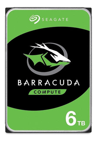 Disco Duro Interno 6TB Seagate Barracuda 5400RPM 3.5 SATA III ST6000DM003