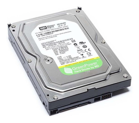Disco Duro Interno 1TB Western Digital Green 7200RPM 3.5 SATA III WD10EURX RF