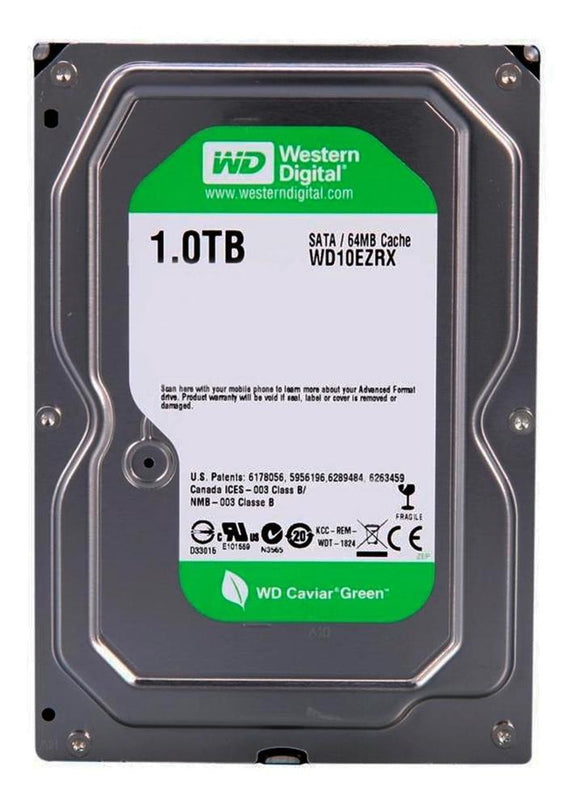 Disco Duro 1TB Western Digital 3.5 WD10EZ SATA ENSAMBLE PC RF