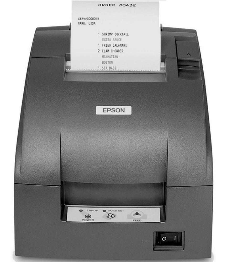 EPSON Mini Printer Matricial USB Recibo Corte Manual TM-U220D-806