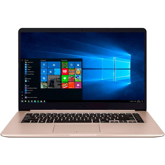 Laptop ASUS VivoBook S15 I7-8550U 8GB 1TB 15.6 Geforce MX150 Wind10 Oro S510UN-BQ050T