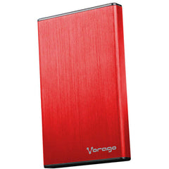 VORAGO Enclosure 2.5'' SATA 201 Case Rojo USB 3.0 HDD-201