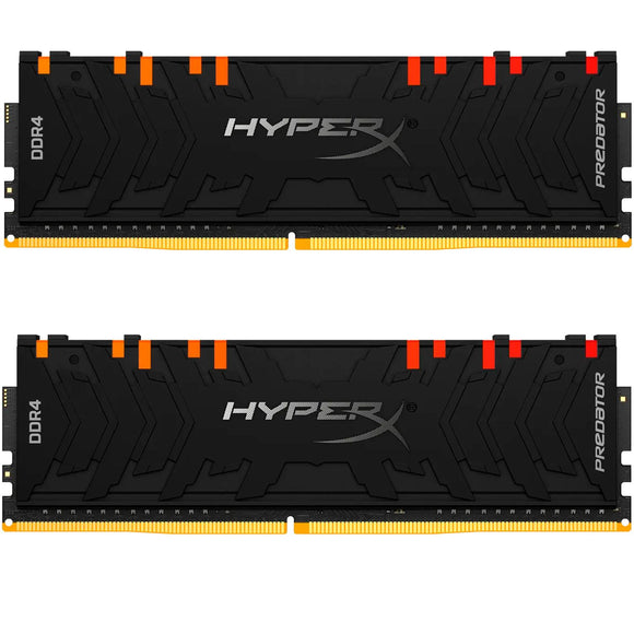 Memoria RAM DDR4 16GB 3600MHz KINGSTON HYPERX PREDATOR RGB 2x8GB HX436C17PB4AK2/16