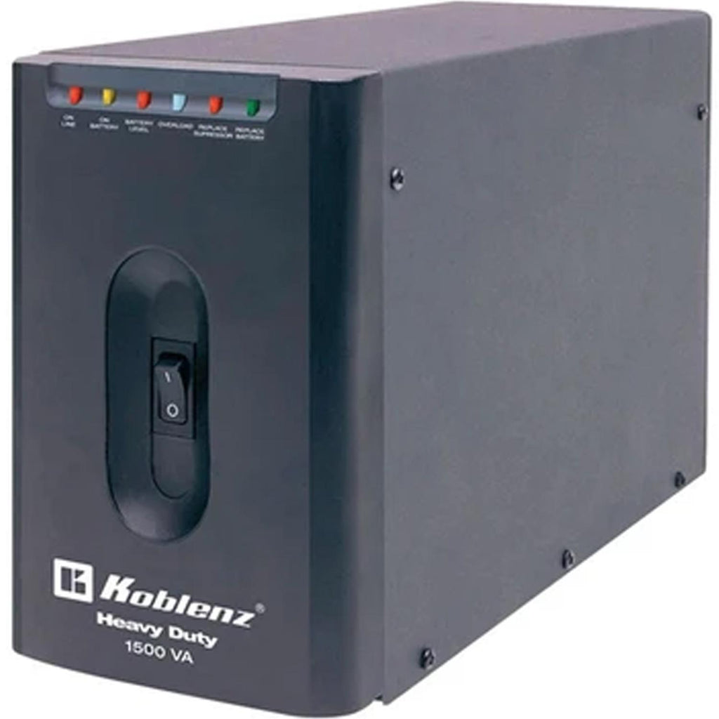 No Break KOBLENZ 15007 USB/R 1500VA 900W 7 Contactos 18 Minutos 00-4237-00-4