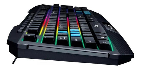 Teclado Gamer GENIUS Scorpion K215 USB Led Negro