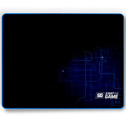 MousePad Gaming VORAGO Start The Game MPG-200 Speed Control Mediano Negro