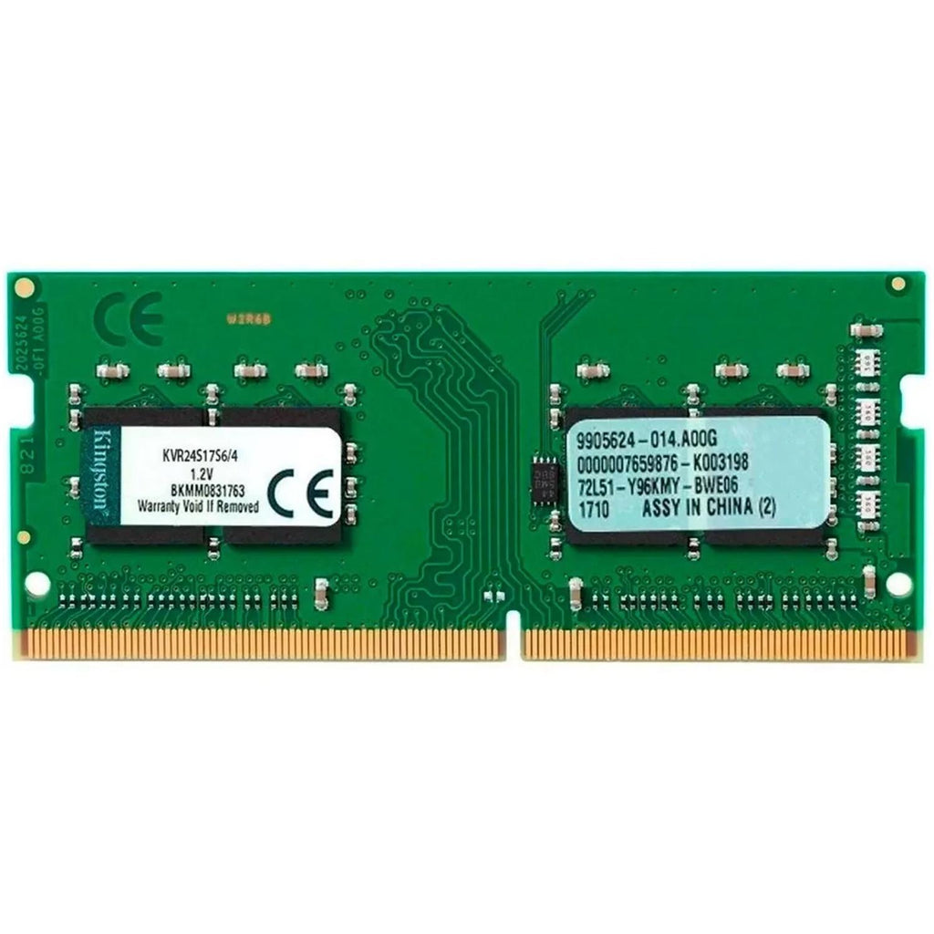 Memoria RAM DDR4 4GB 2400MHz KINGSTON Laptop KVR24S17S6/4