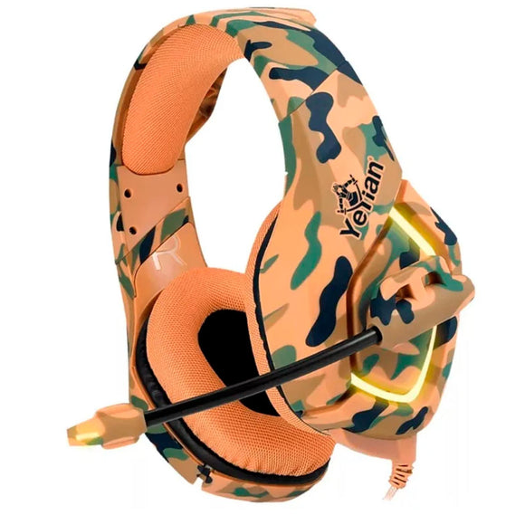 Audifonos Gamer YEYIAN Force Military Desierto C/Microfono YDF-33401D