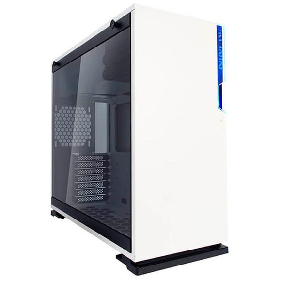 Gabinete Gamer IN WIN 101 WHITE ATX Media Torre Cristal Templado