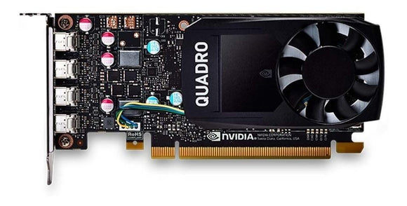 Tarjeta de Video PNY Geforce QUADRO P600 2GB DDR5 PCI-E VCQP600-ESPPB