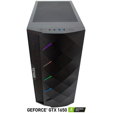 Xtreme PC Gamer Geforce GTX 1650 RYZEN 5 16GB SSD 480GB Sistema Liquido