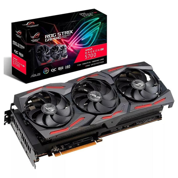 Tarjeta de Video ASUS ROG Strix Radeon RX5700 OC 8GB GDDR6 ROG-STRIX-RX5700-O8G-GAMING