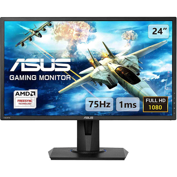 Monitor Gamer 24 ASUS VG245H Full HD TN 75Hz 1ms HDMI Altavoces FreeSync