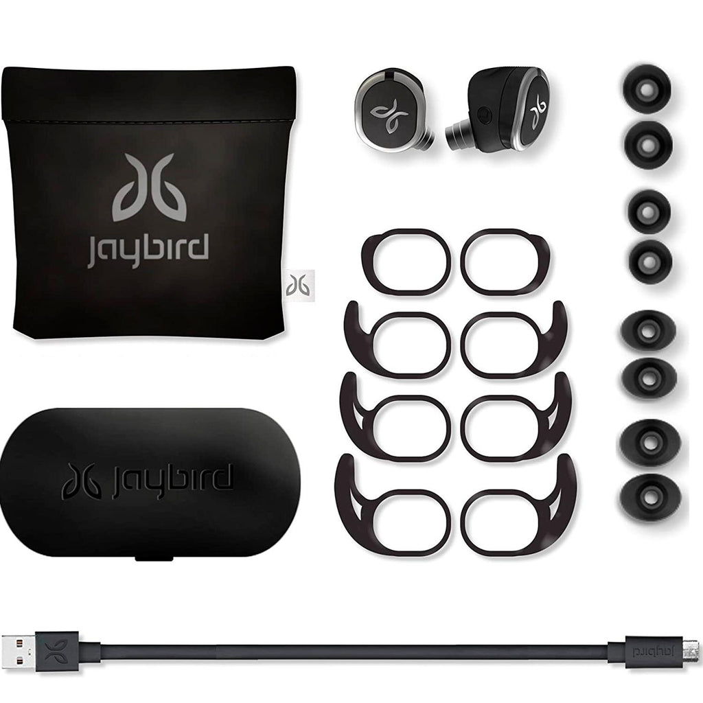 Audifonos Bluetooth LOGITECH JAYBIRD RUN Funda Carga Rapida Reacondicionado