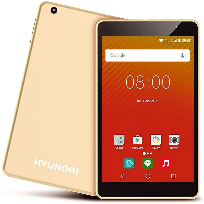 Tablet HYUNDAY Koral 8W2 RK3326 2GB 16GB Android 9.0 Gold Metal HT0802W16A