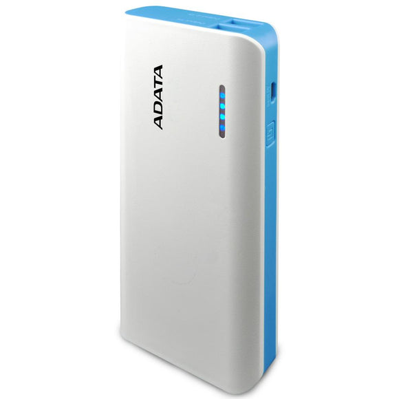 Power Bank 10000MAH ADATA PT100 Bateria Portatil APT100-10000M-5V-CWHBL