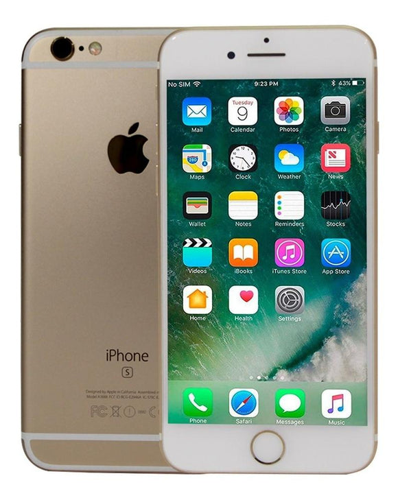 Celular APPLE iPhone 6S Plus 16GB A9 Dual Core iOS 11.4.1 Gold Open Box 1M GTA