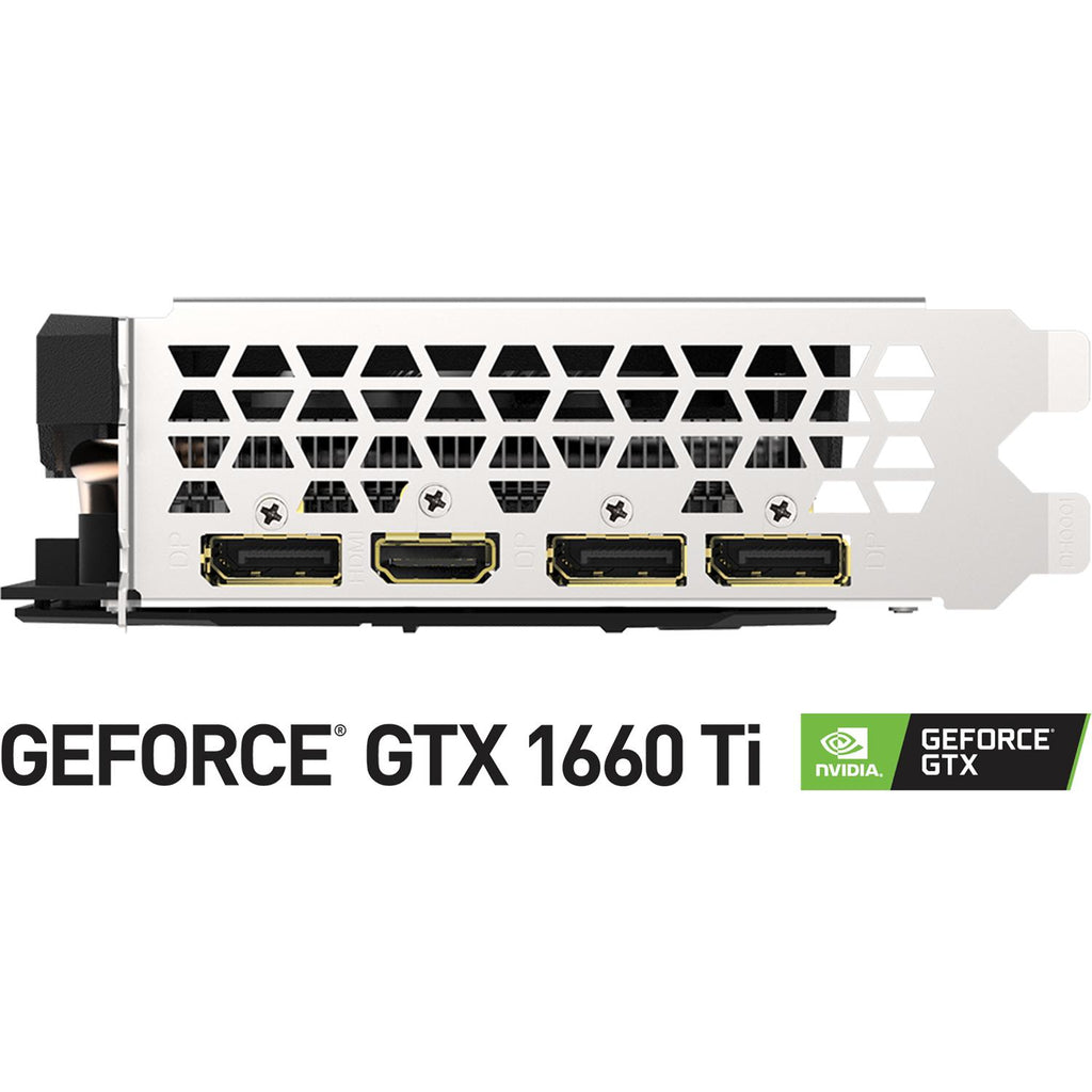 Tarjeta de Video GIGABYTE GeForce GTX 1660 Ti OC 6GB GDDR6 GV-N166TOC-6GD