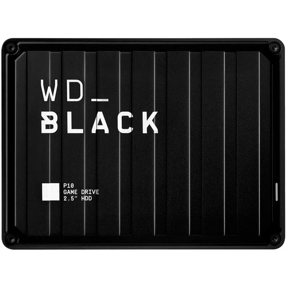 Disco Duro Externo 4TB WESTERN DIGITAL Game Drive P10 Consola/PC WDBA3A0040BBK-WESN
