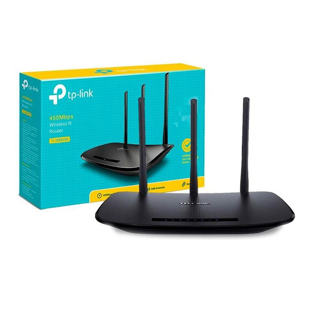 Router Inalambrico TP-LINK TL-WR940N N450 2.4Ghz 802.11n 450Mbps
