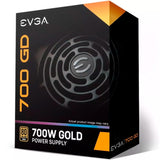 Fuente de Poder PC 700W Gamer EVGA 80 Plus Gold 100-gd-0700-v1