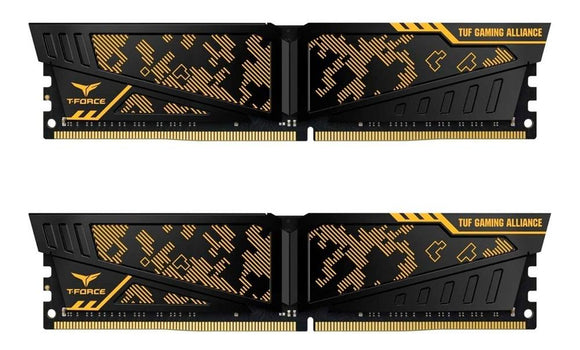 Memoria RAM DDR4 16GB 2400MHz TEAMGROUP T-Force Vulcan TUF Gaming Alliance 2X8GB TLTYD416G2400HC14DC