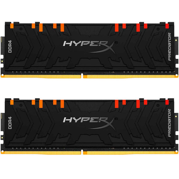 Memoria RAM DDR4 16GB 4000MHz KINGSTON HYPERX PREDATOR RGB 2x8GB HX440C19PB4AK2/16