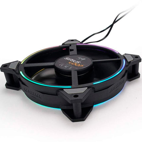 Kit 3 Ventiladores IN WIN SIRIUS LOOP ASL120 120mm RGB