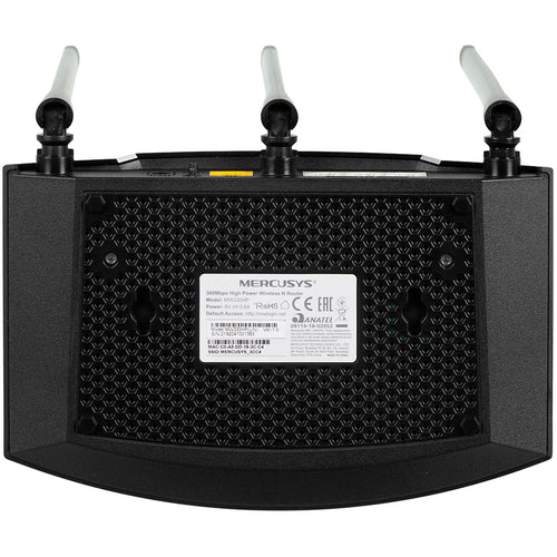 Router Inalambrico MERCUSYS MW330HP N 300bps High Power 3 Antenas 7dBi