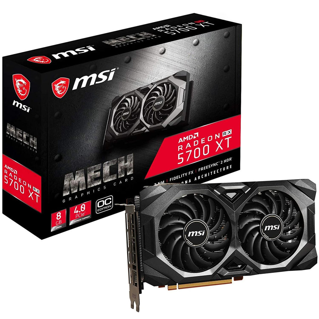 Tarjeta De Video MSI Amd Radeon RTX 5700 XT MECH OC 8GB DDR6