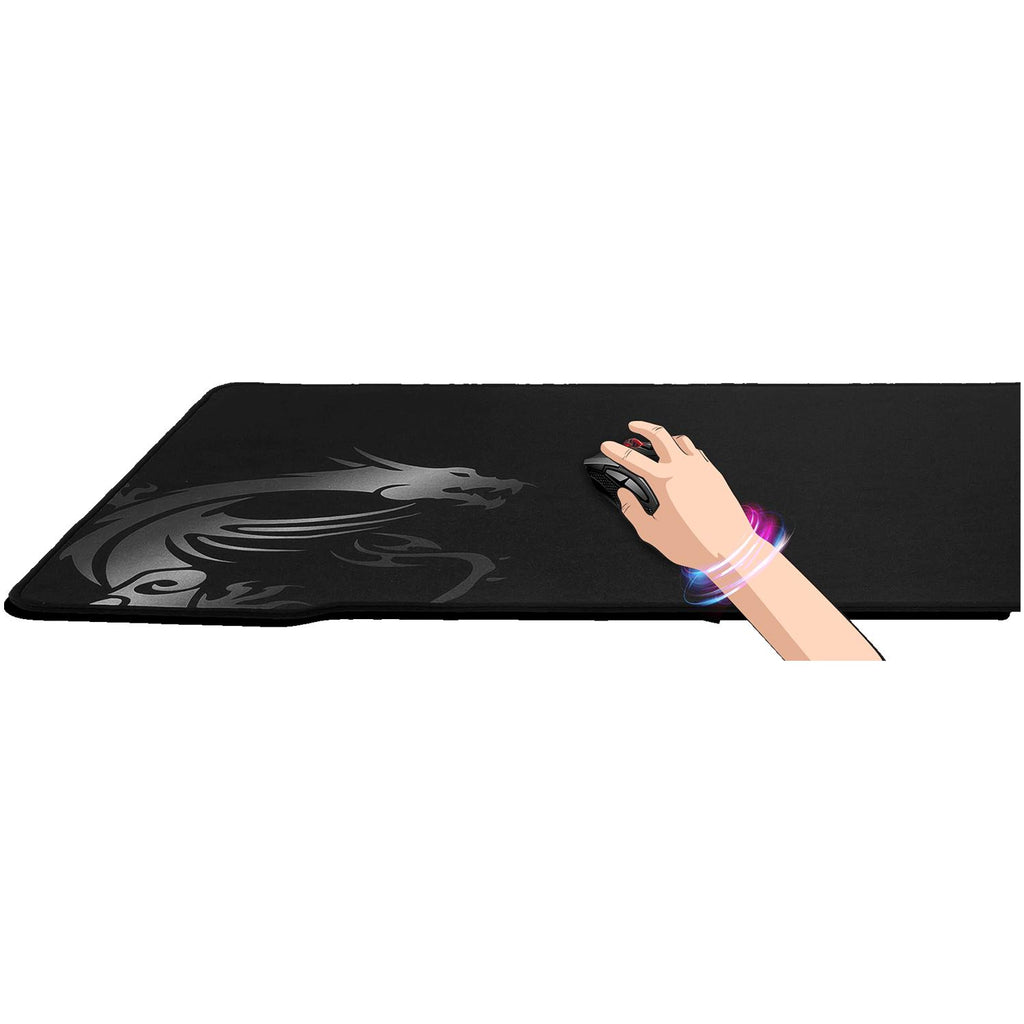 MousePad Gamer MSI AGILITY GD70 XL Antideslizante Negro
