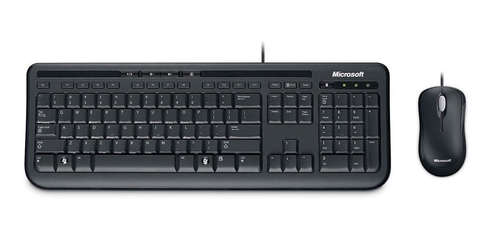 KIT Teclado y Mouse MICROSOFT Wired 600 APB-00004