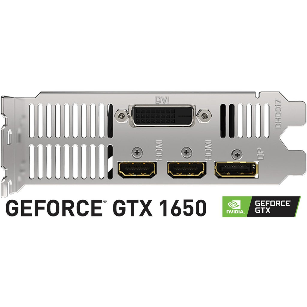 Tarjeta de Video GIGABYTE GeForce GTX 1650 OC Low Profile 4GB GDRR6 GV-N1656OC-4GL