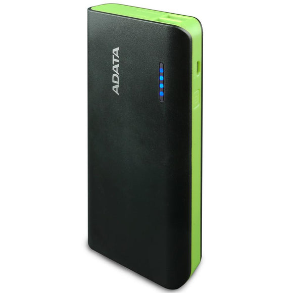 Power Bank 10000MAH ADATA PT100 Bateria Portatil APT100-10000M-5V-CBKGR