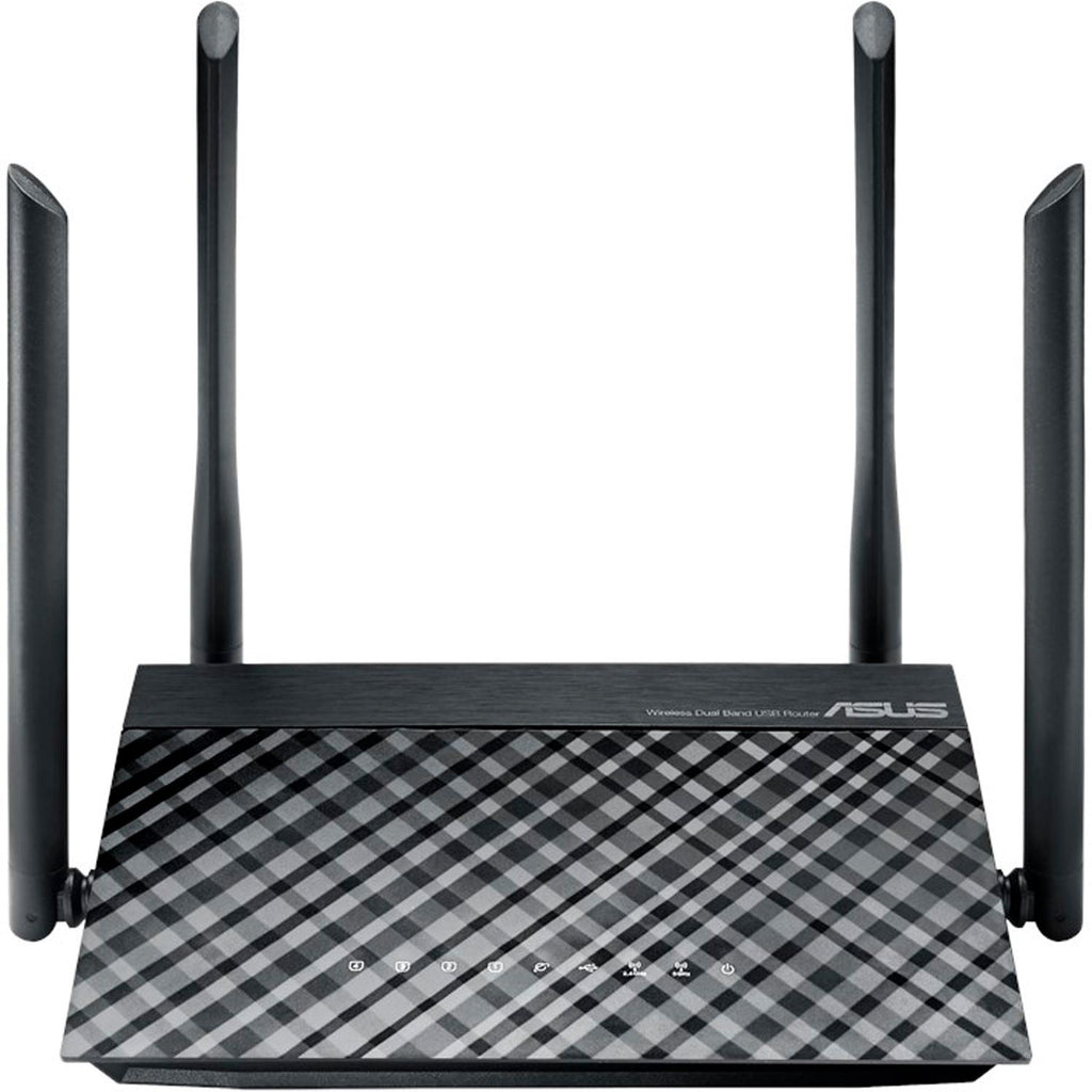 Router Inalambrico ASUS RT-AC1200 Dual Band 802.11AC 867 Mbps