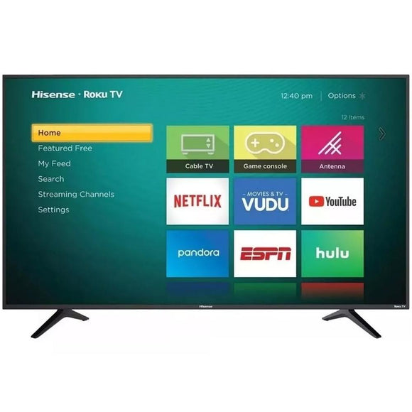 Pantalla HISENSE 65 65R6E Television 4K Smart TV Roku HDR 3M GTA ReAcondicionado