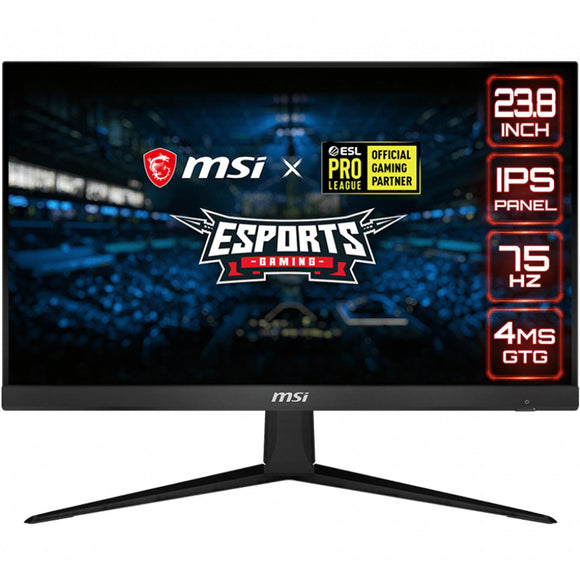 Monitor Gamer MSI OPTIX G241V 23.8 Full HD 4MS 75Hz HDMI