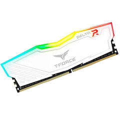 Memoria RAM DDR4 16GB 3000MHz TEAMGROUP T-Force DELTA RGB 1x16GB TF4D416G3000HC16C01