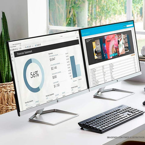 Monitor 27 HP 27F LED IPS Full HD 5MS 75HZ VGA HDMI 2XN62AAT#ABA 3M GTA ReAcondicionado
