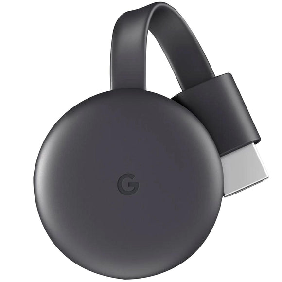 Google Chromecast 3 Generacion Streaming Media HDMI GA00439-US