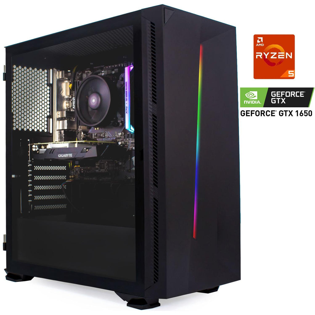 Pc Gamer Xtreme Amd Ryzen 5 3600 Ram 8Gb Unidad Ssd 240Gb Disco 1Tb Nvidia Gtx 1650 4Gb
