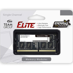 Memoria RAM DDR4 8GB 2666MHz TEAMGROUP ELITE Laptop TED48G2666C19-S01