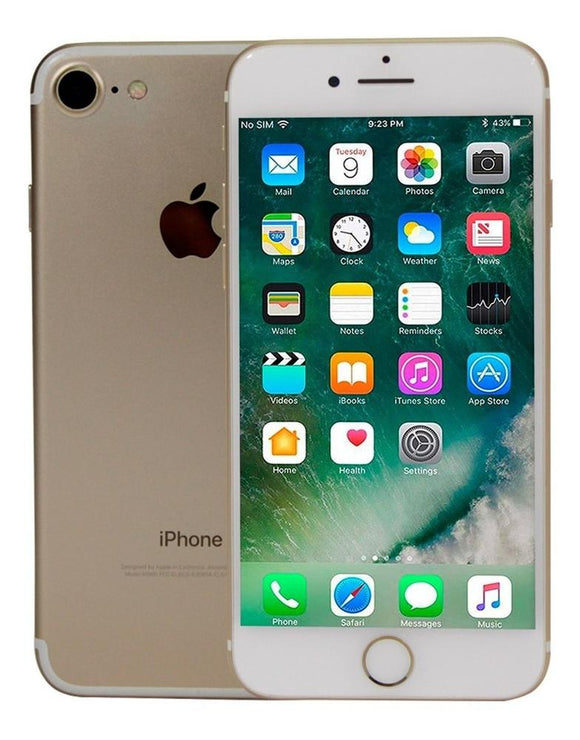 Celular APPLE iPhone 7 32GB Quad Core iOS 12.2 A10 Gold 1M Open Box 1M GTA