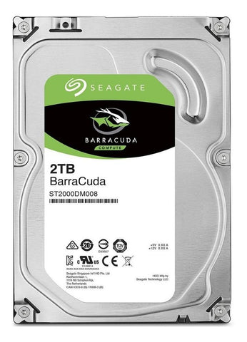 Disco Duro Interno 2TB Seagate Barracuda 7200RPM 3.5 SATA III ST2000DM008