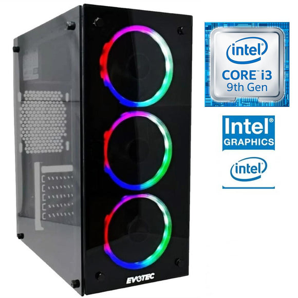Pc Gamer Xtreme Intel Core I3 9100 8gb 500gb Hd 630
