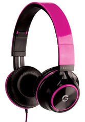 Audifonos GETTTECH SNORITY 3.5MM Microfono Rosa GH-3100P