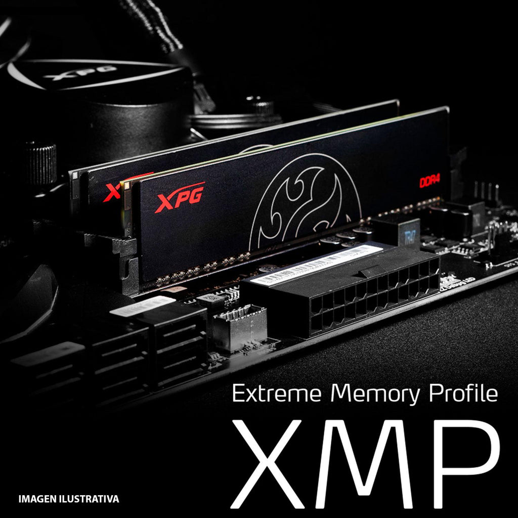 Memoria RAM DDR4 8GB 2666MHz XPG HUNTER PC Gamer AX4U266638G16-SBHT